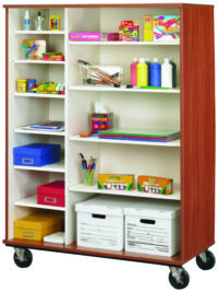 "67"" Tall Open Shelf Storage"