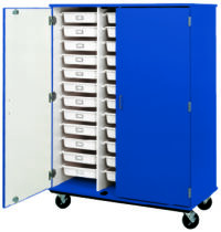 Closed Tray Storage - (36) 3 1/2' Trays