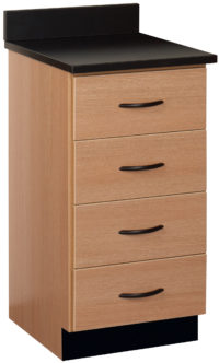 "18"" Wide 4 Drawer Base Cabinet"
