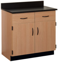 36W Drawer/Door Base Cabinet
