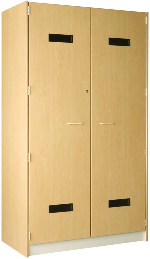Accessory Storage With Lockable Solid Doors -- 48 W