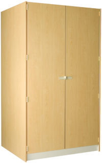 2 Compartment With Full Solid Doors -- 40D/48W