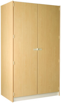 3 Compartment With Individual Solid Doors -- 29D/48W