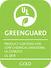 UL GreenGuard Gold Certified